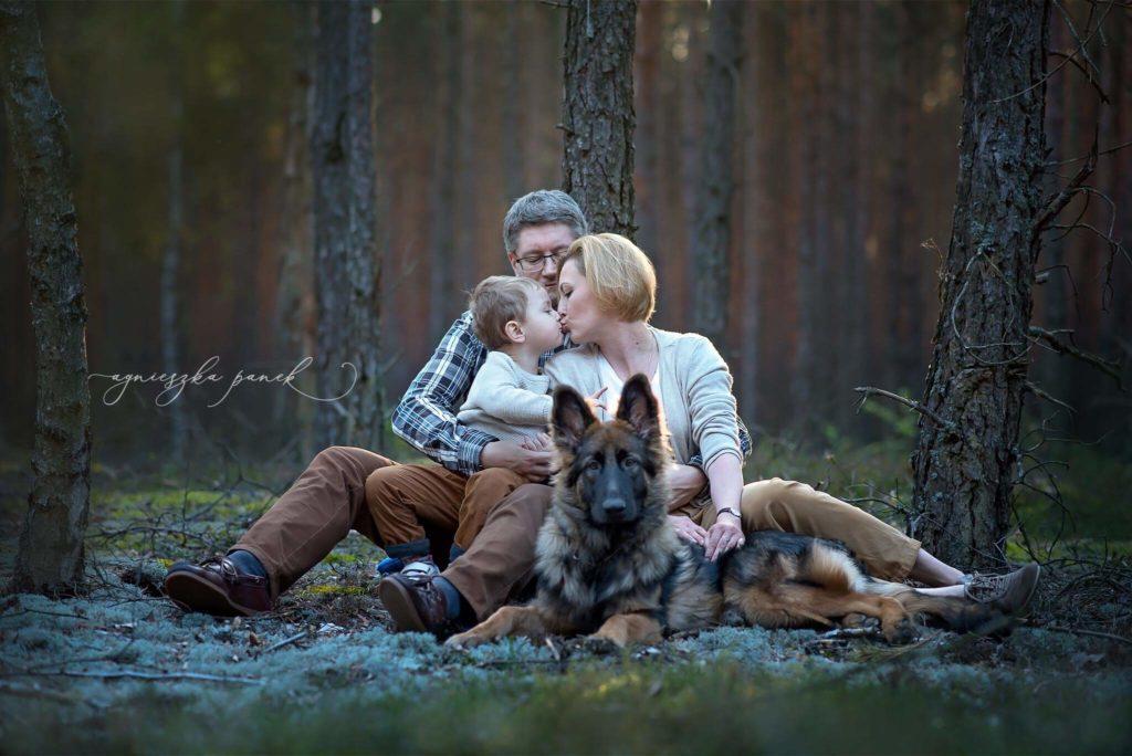 sesja rodzinna i dziecięca w warszawie w parku