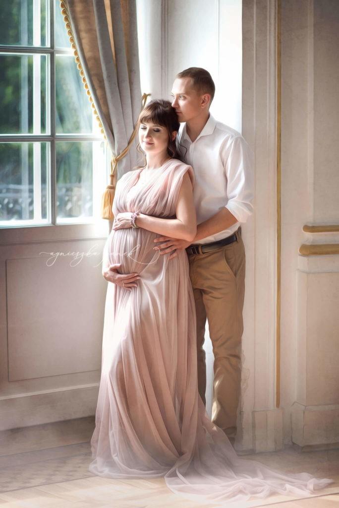 sesja ciążowa brzuszkowa w warszawie